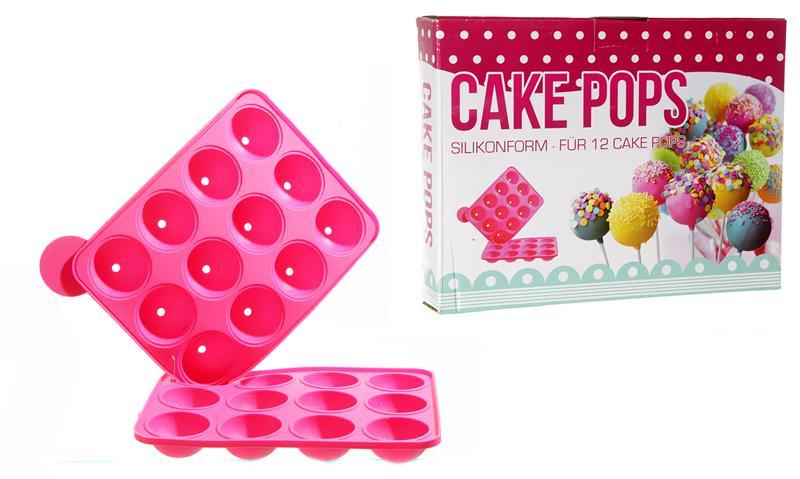 backformen cake pops formen 12 push up cake pops mit 1 st nder pictures to pin on pinterest. Black Bedroom Furniture Sets. Home Design Ideas