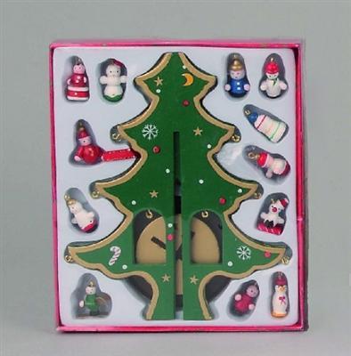 holz baum steckbaum weihnachtsbaum 23cm deko weihnachten. Black Bedroom Furniture Sets. Home Design Ideas