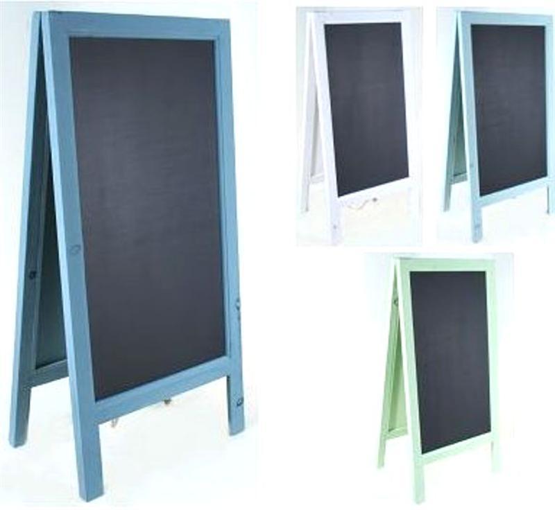 kreidetafel rahmen tafel aufsteller bar restaurant ladenaufsteller farbauswahl ebay. Black Bedroom Furniture Sets. Home Design Ideas