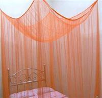 orientalische wei e bettdekoration m ckennetz betthimmel baldachin 2 2 x 2 x 2 m ebay. Black Bedroom Furniture Sets. Home Design Ideas