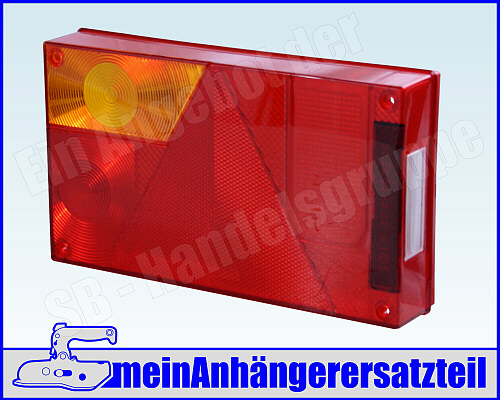 Lichtscheibe passend f/ür Asp/öck Multipoint 1 Lichtscheibe Rechts mit RFS