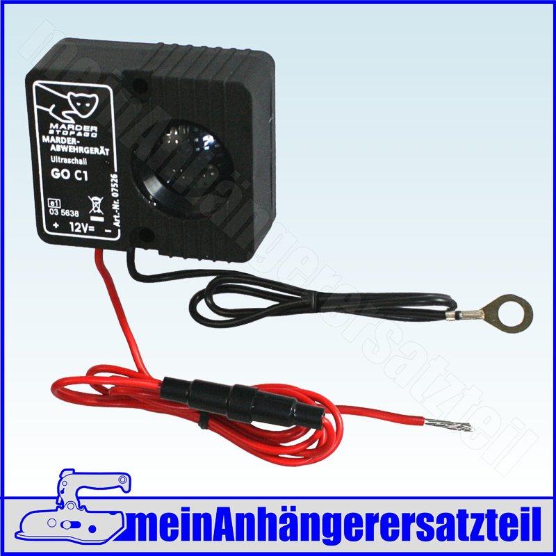 Stop-Go-Ultraschall-Marderabwehr-Marderschreck-Marderfrei-Marderschutz-12V