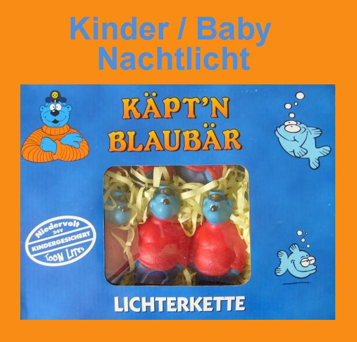 k pt 39 n blaub r kinder wandlampe nachtlicht lichterkette. Black Bedroom Furniture Sets. Home Design Ideas