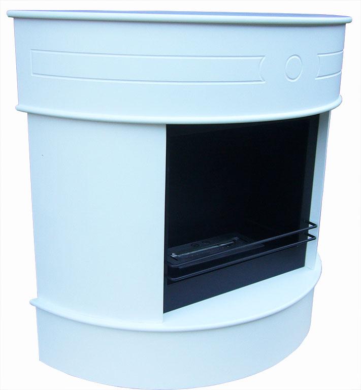 Gelkamin delux wei 3 bioethanolkamin edelstahlbrennkammer for Ofen ohne abzug