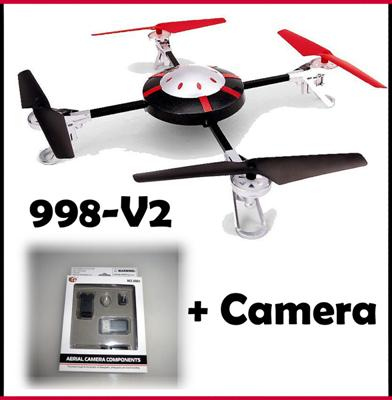 QUADCOPTER-V998-4-5-KANAL-2-4-GHZ-DRONE-QUADROCOPTER-BLADE-UFO-MULTICOPTER-HUBSC