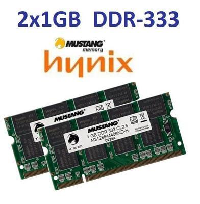 2x-1GB-2GB-DDR-333-Mhz-RAM-Speicher-Acer-Travelmate-2350-Serie-2353-2354-2355