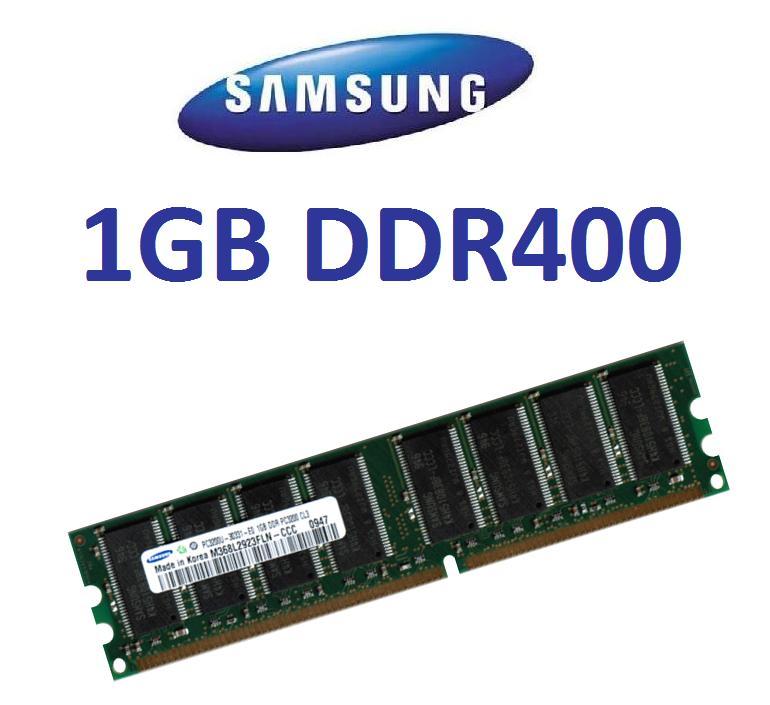 1GB-SAMSUNG-RAM-Speicher-DDR-400-Mhz-400Mhz-PC3200-DDR1
