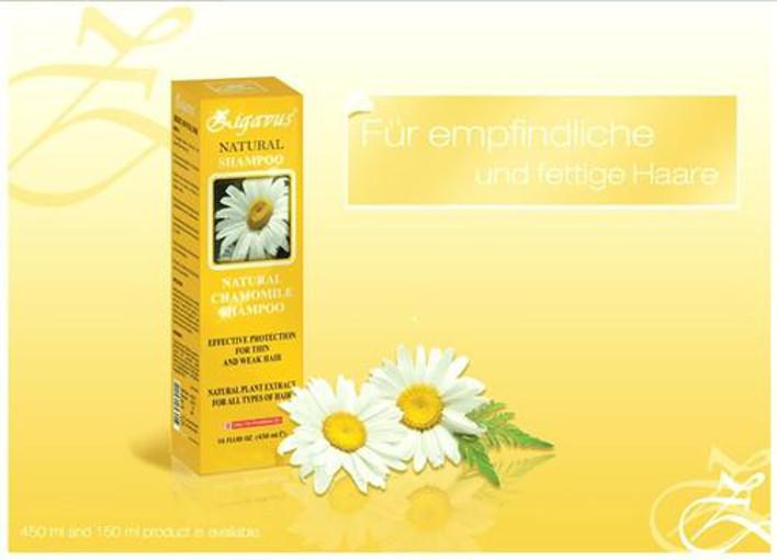 mk tronic zigavus kamillen extrakt natural shampoo 450ml. Black Bedroom Furniture Sets. Home Design Ideas