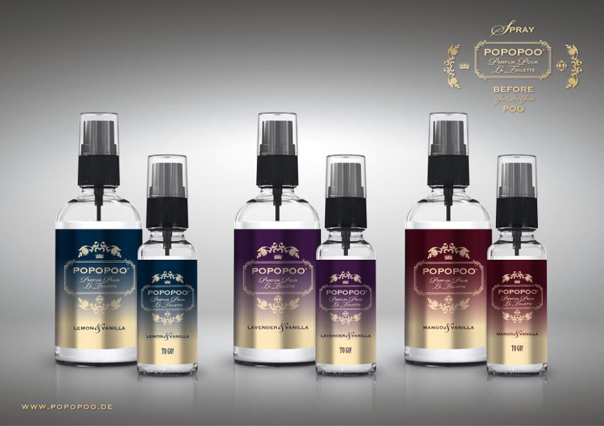 popopoo toilettenspray toilettenparfum lemon vanille gegen. Black Bedroom Furniture Sets. Home Design Ideas