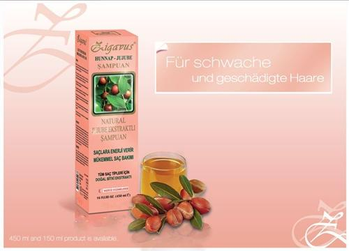 zigavus jojoba extrakt shampoo 150ml gegen schwache und. Black Bedroom Furniture Sets. Home Design Ideas