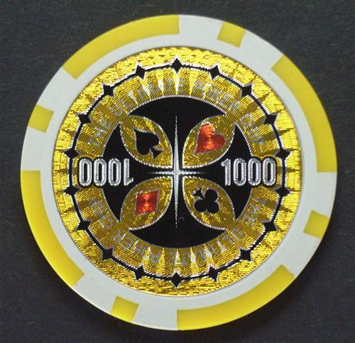 The ultimate poker chip 1000