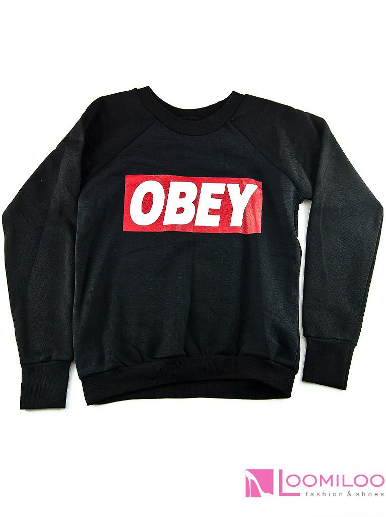 obey sweater sweatshirt pulli pullover damen kanye yolo hipster swag. Black Bedroom Furniture Sets. Home Design Ideas
