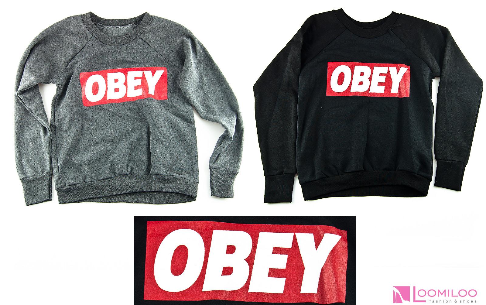 obey sweater sweatshirt pulli pullover damen kanye yolo hipster swag ebay. Black Bedroom Furniture Sets. Home Design Ideas