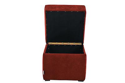 Sitzhocker Wäschebox Sitzwürfel Würfel Hocker Micofaser 40 cm x 40 cm