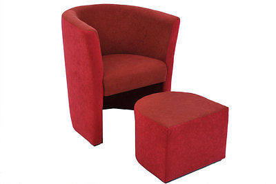 sessel clubsessel hocker sitzhocker loungesessel cocktailsessel microfaser ebay. Black Bedroom Furniture Sets. Home Design Ideas