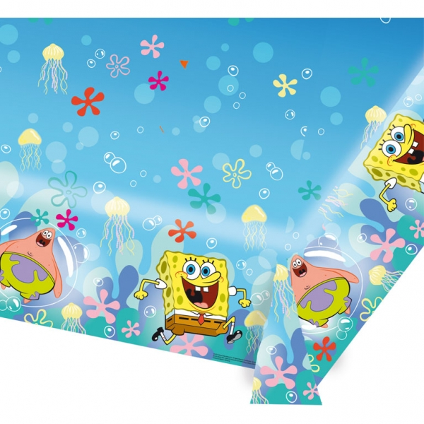 Kindergeburtstag Sponge Bob Teller Becher Mitgebsel Deko zum Kinfofilm