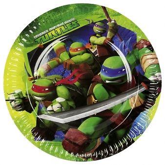 Ninja Turtles Kindergeburtstag Party Set Deko Teller Becher Servietten Girlande