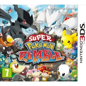 Nintendo-3DS-3-DS-Spiel-Super-Pokemon-Pokemon-Rumble-3D-NEU