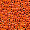 Pony Beads 4 mm 10 g  orange opak Indianerperlen