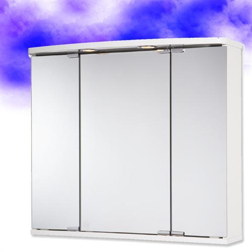Spiegelschrank doro von jokey mit beleuchtung und schuko steckdose - Spiegelschrank mit beleuchtung und steckdose ...