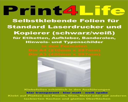 Produktkennzeichnung Etiketten glänzend weiß Adressetiketten 91 Formate Laser