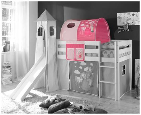 turm prinzessin pink f r spielbett hochbett etagenbett ebay. Black Bedroom Furniture Sets. Home Design Ideas