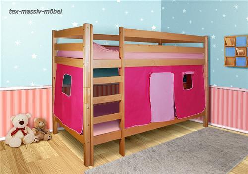 spielbett etagenbett systembett buche massiv oli ohne rollroste ebay. Black Bedroom Furniture Sets. Home Design Ideas