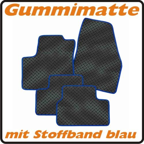 rau gummimatten riffel schwarz band blau f renault capture 5trg bj ab 5 2013 ebay. Black Bedroom Furniture Sets. Home Design Ideas