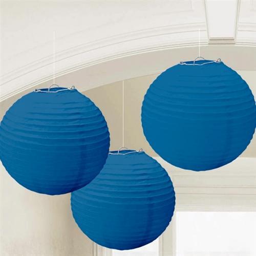 party deko dunkel blau papier laterne f cher girlande pompom hochzeit geburtsta ebay. Black Bedroom Furniture Sets. Home Design Ideas
