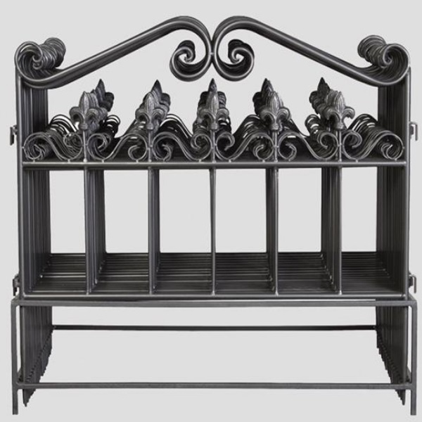 beetbegrenzung rankgitter 62 x 55 metall rankhilfe beeteinfassung beetzaun ebay. Black Bedroom Furniture Sets. Home Design Ideas