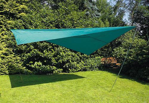 sonnensegel sonnenschutz 3x4m gr n tarp wasserdicht. Black Bedroom Furniture Sets. Home Design Ideas