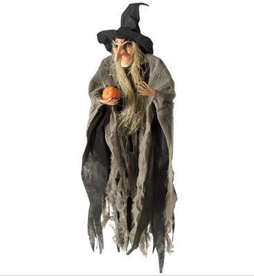 Hexe 65 Cm Halloween Walpurgisnacht H Nge Deko Hexenpuppe