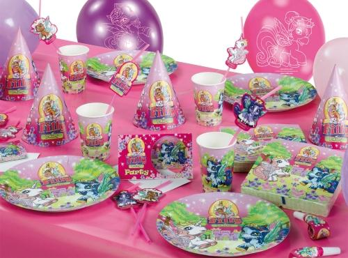 filly fairy pferd kindergeburtstag set party geburtstag motto party ebay. Black Bedroom Furniture Sets. Home Design Ideas