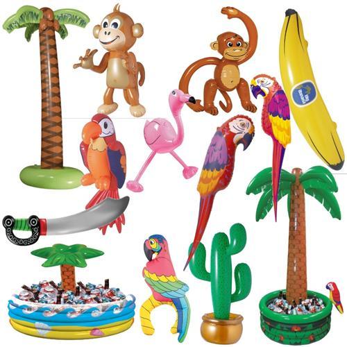Aufblasbare party deko hawaii strandparty sommer fest for Kinder dekoration