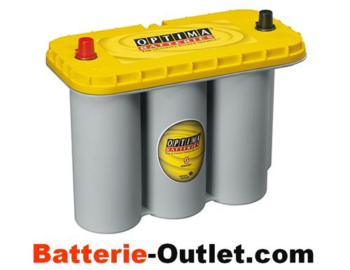 YTS 5,5 L Optima Yellow Top AGM Batterie 12V 75Ah