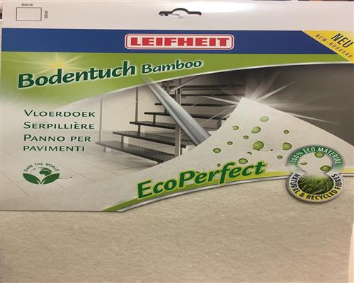 Leifheit Bodentuch Bamboo Eco Perfect Wischtuch 40006
