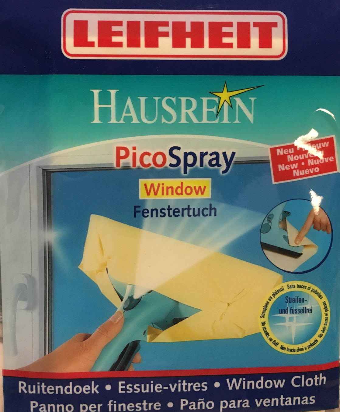 Leifheit Ersatztuch Window Pico Spray Fensterwischtuch 51172