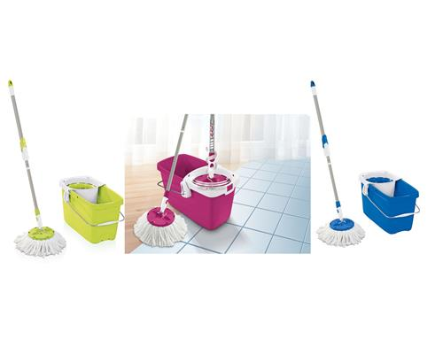 Leifheit Set Clean Twist Mop Bodenwischer Wischmop color edition