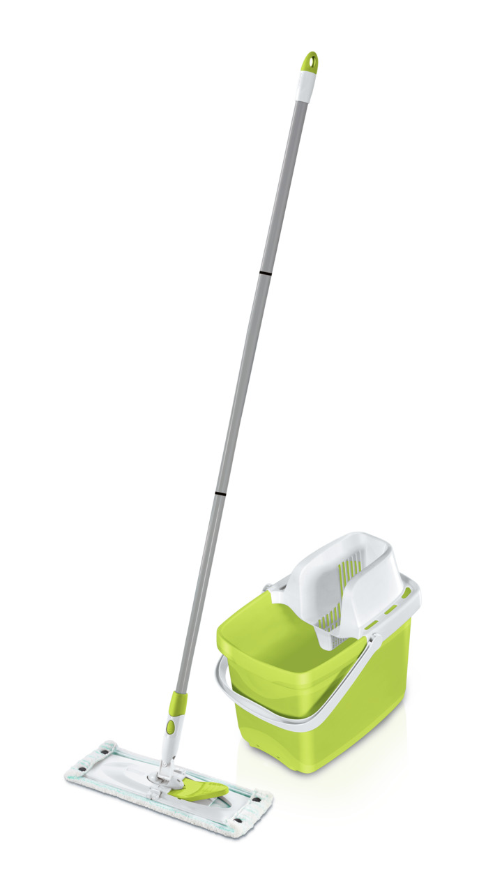 Leifheit Combi Clean Set M shiny green 52086 Bodenwischer