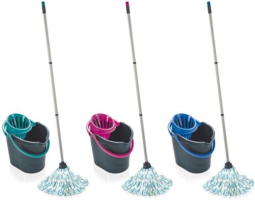 Leifheit Classic Mop Set 55261 Bodenwischer Wischmop colour edition
