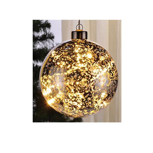 Beleuchtete Weihnachtskugeln.Beleuchtete Led Weihnachtskugeln 12 Cm Aus Glas 76141 Design 2