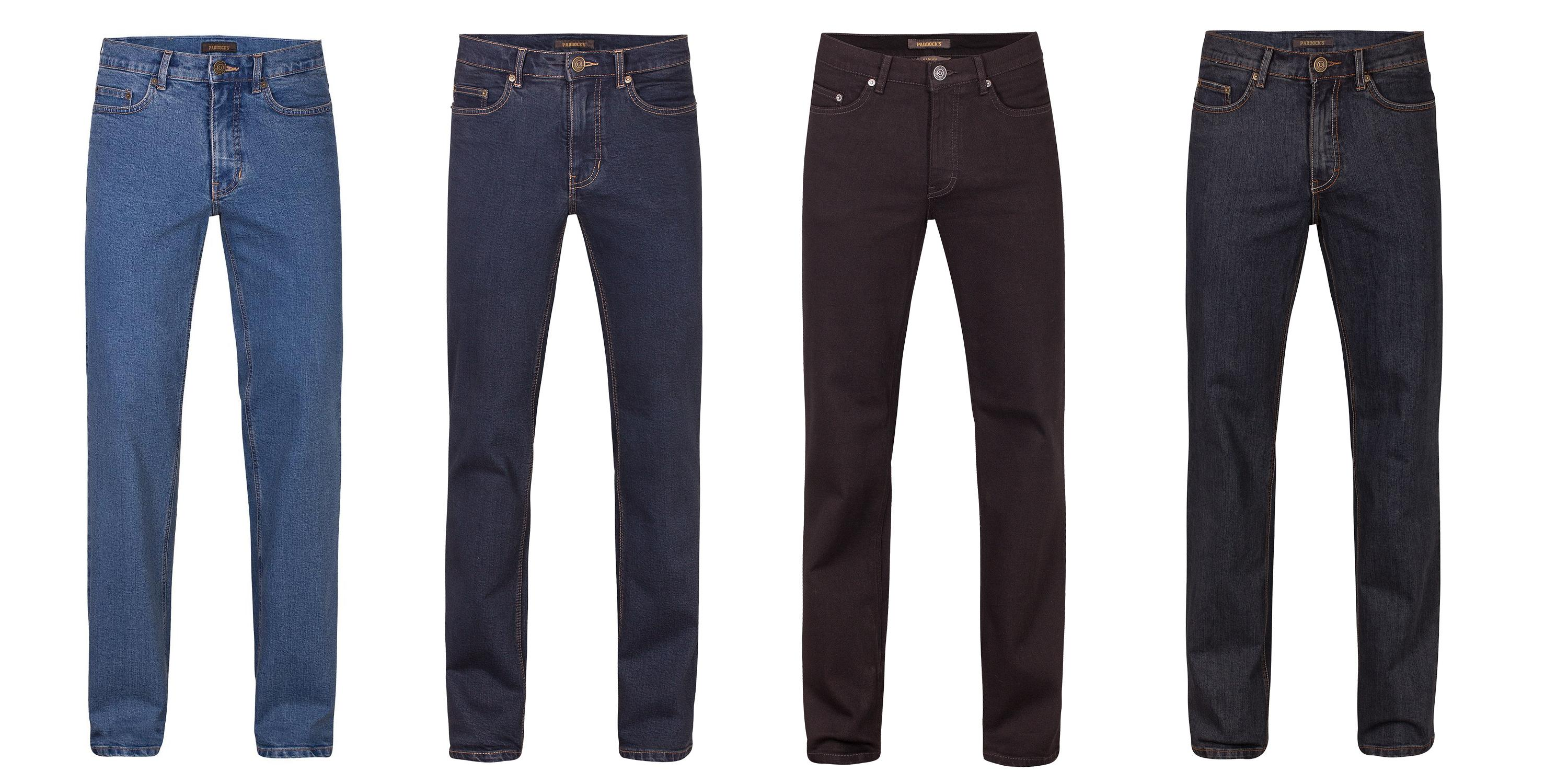 Paddocks Ranger slim fit 46.43., 47.01., 60.01., 91.16. Herrenjeans, Hose