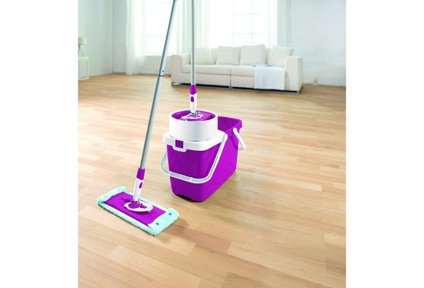 leifheit set clean twist system m sweet pink 52041 bodenwischer eimer set. Black Bedroom Furniture Sets. Home Design Ideas