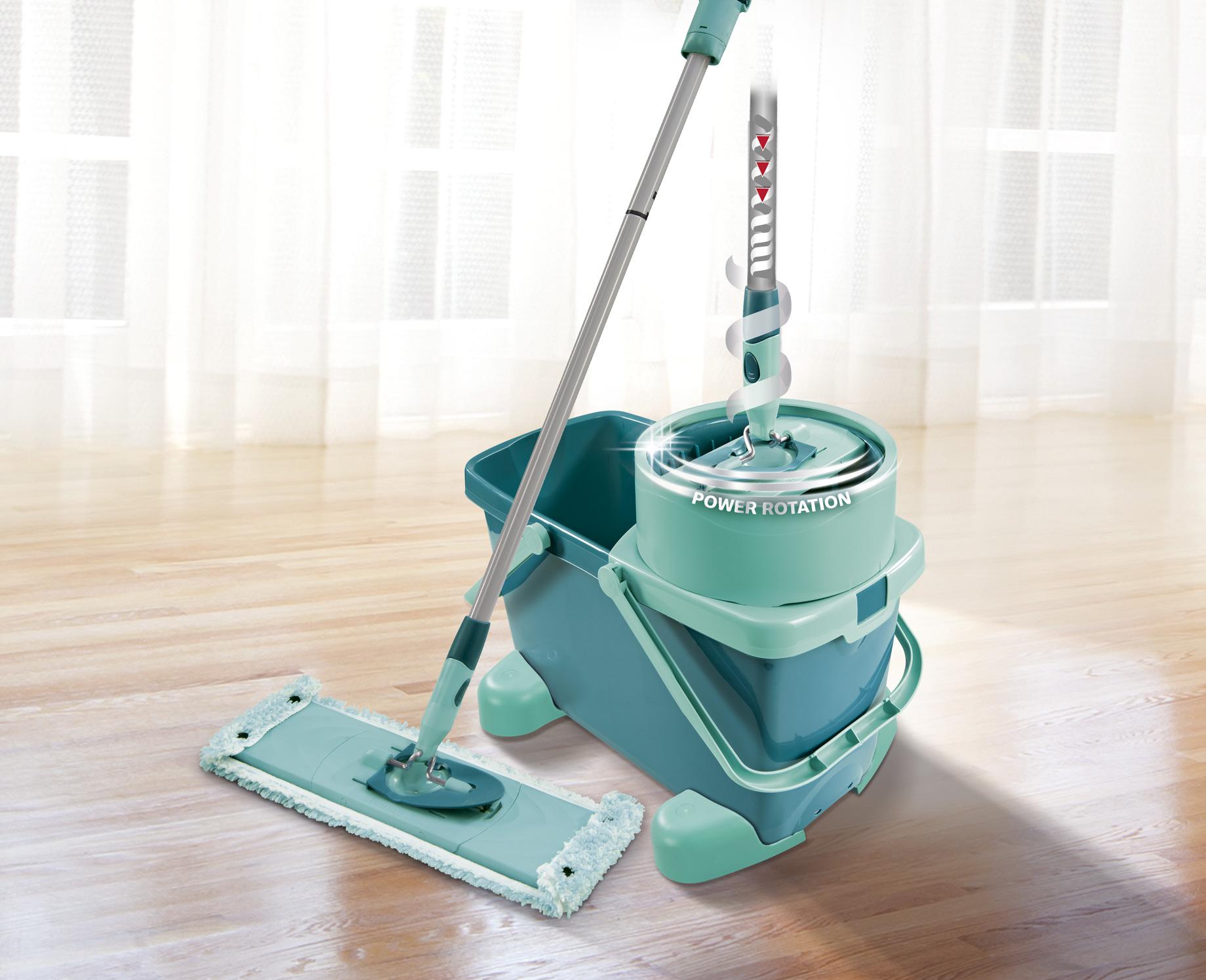 leifheit clean twist system m set bodenwischer 52050 extra soft. Black Bedroom Furniture Sets. Home Design Ideas