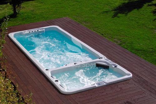 allseasspa spa hot tub whirlpool gartenwhirlpool jakuzzi swimspa asw 6000 ebay. Black Bedroom Furniture Sets. Home Design Ideas