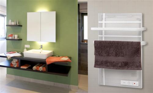 elektrische badwand heizung radiator heizk rper. Black Bedroom Furniture Sets. Home Design Ideas