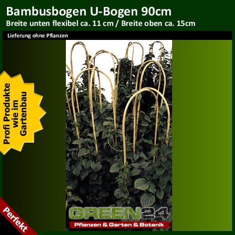 bambus u bogen bambusstab gebogen kletter rankhilfe f r. Black Bedroom Furniture Sets. Home Design Ideas