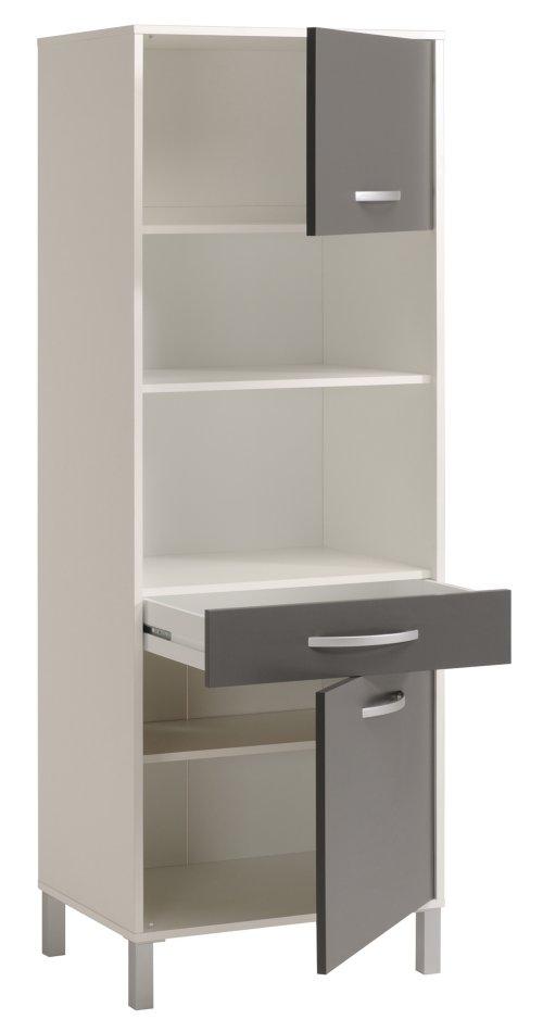 k chenschrank hochschrank mikrowellenschrank schrank k che. Black Bedroom Furniture Sets. Home Design Ideas