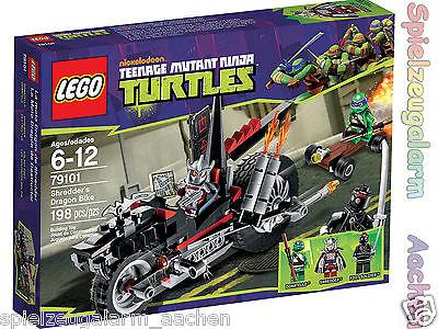 LEGO-79101-NINJA-TURTLES-Shredders-Turbobike-mit-Donatello-Dragon-Bike-La-moto