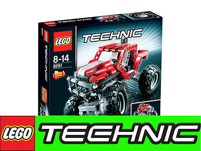 lego technic 8261 power truck 4wd rally truck 2in1 lkw. Black Bedroom Furniture Sets. Home Design Ideas